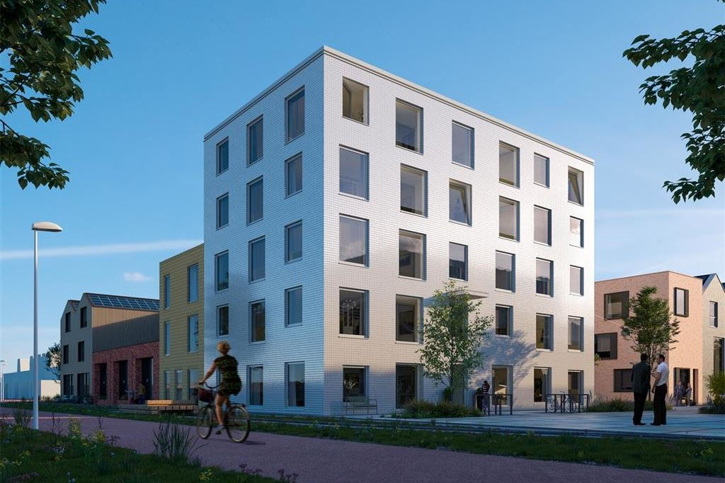 Bekijk foto 2 van Wisselspoor deelgebied 1 (appartementen) (Bouwnr. 35)