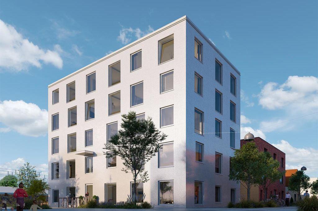 Bekijk foto 1 van Wisselspoor deelgebied 1 (appartementen) (Bouwnr. 40)