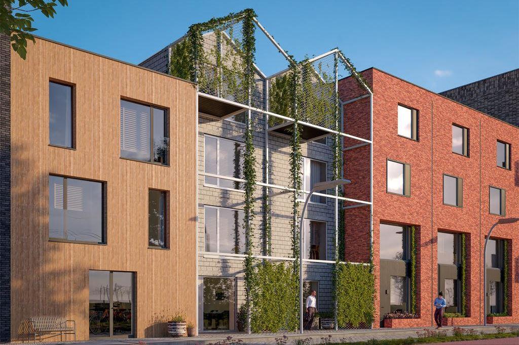 Bekijk foto 1 van Wisselspoor Utrecht deelgebied 1 (woningen) (Bouwnr. 79)