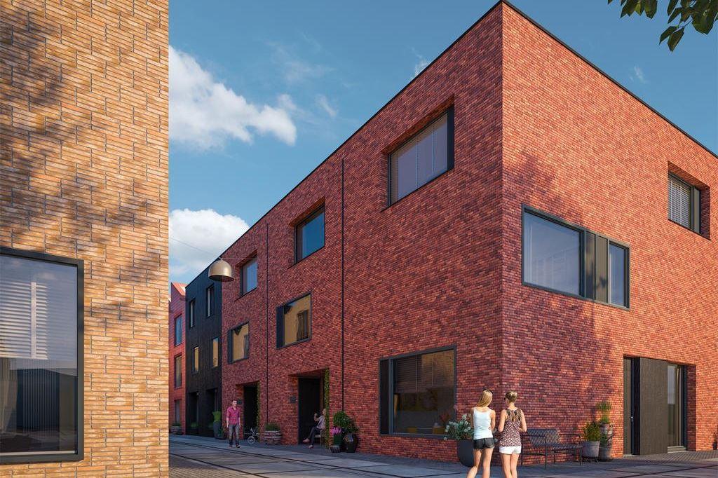 Bekijk foto 2 van Wisselspoor Utrecht deelgebied 1 (woningen) (Bouwnr. 52)