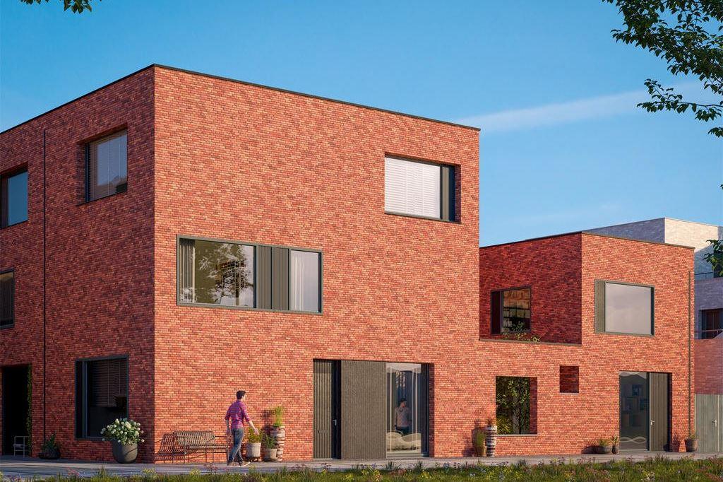 Bekijk foto 1 van Wisselspoor Utrecht deelgebied 1 (woningen) (Bouwnr. 52)
