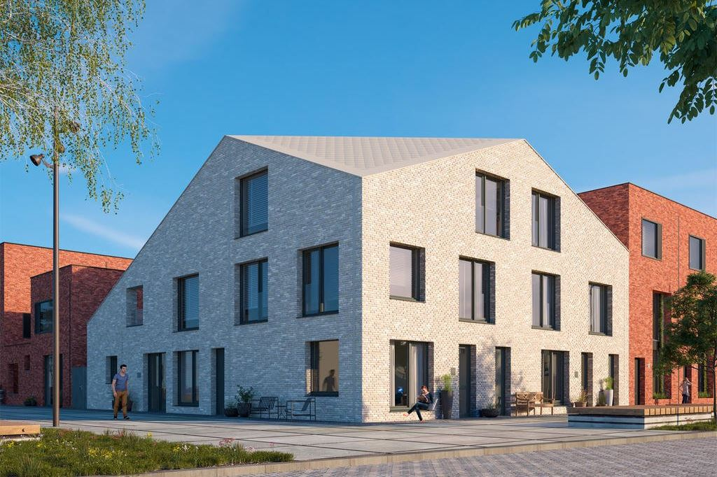 Bekijk foto 2 van Wisselspoor Utrecht deelgebied 1 (woningen) (Bouwnr. 50)