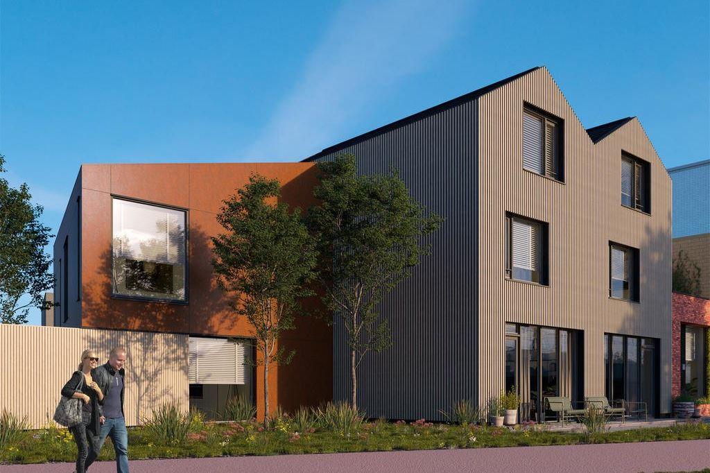 Bekijk foto 1 van Wisselspoor Utrecht deelgebied 1 (woningen) (Bouwnr. 24)