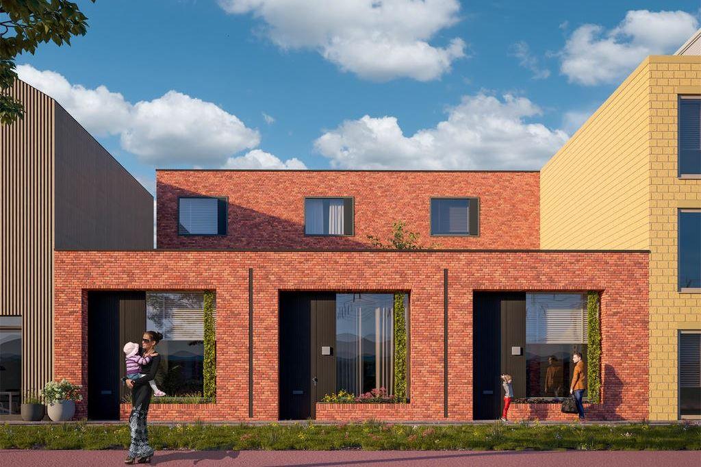 Bekijk foto 3 van Wisselspoor Utrecht deelgebied 1 (woningen) (Bouwnr. 24)