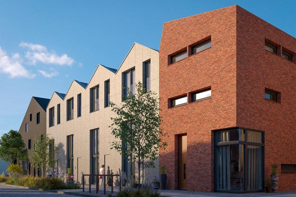 Bekijk foto 1 van Wisselspoor Utrecht deelgebied 1 (woningen) (Bouwnr. 55)