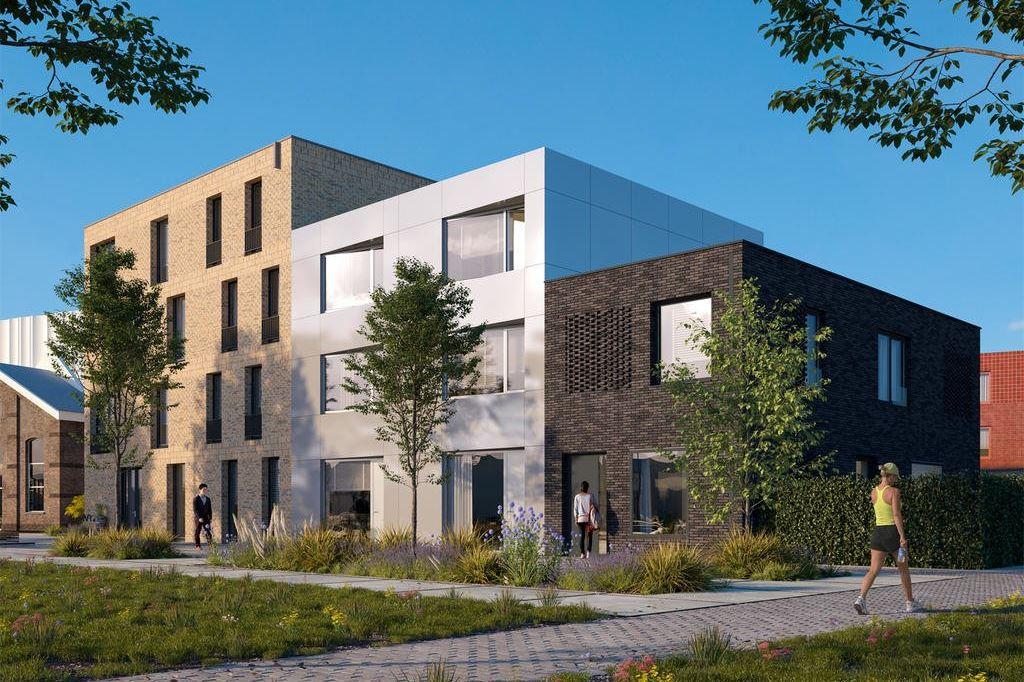 Bekijk foto 1 van Wisselspoor Utrecht deelgebied 1 (woningen) (Bouwnr. 3)