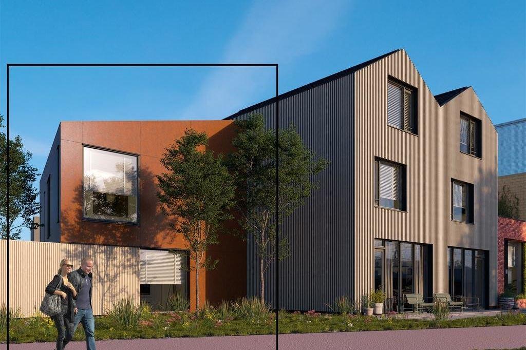 Bekijk foto 2 van Wisselspoor Utrecht deelgebied 1 (woningen) (Bouwnr. 19)