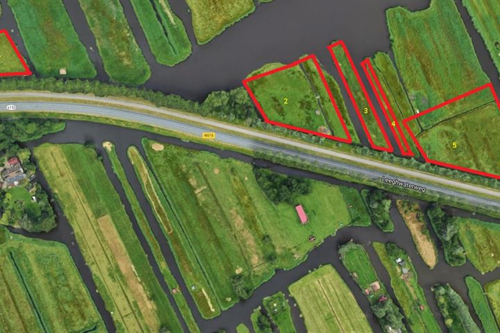 langs de N515 'Kalverpolder', Zaandam