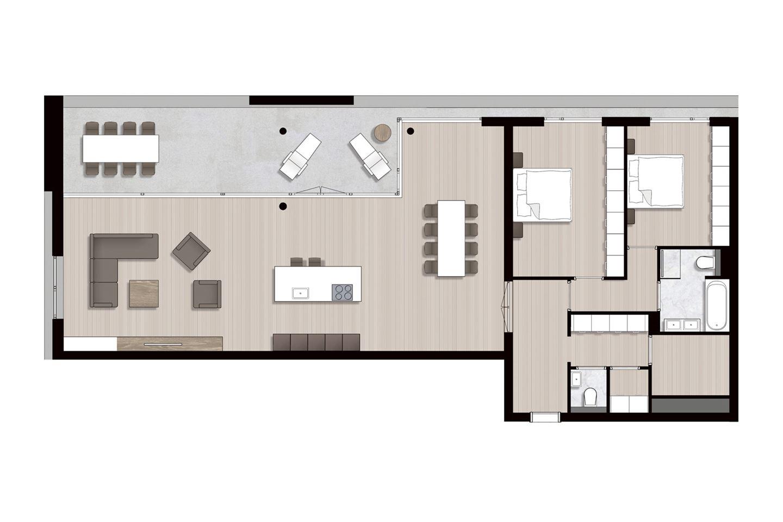 Bekijk foto 4 van Ravel - Appartementen (Bouwnr. 8)