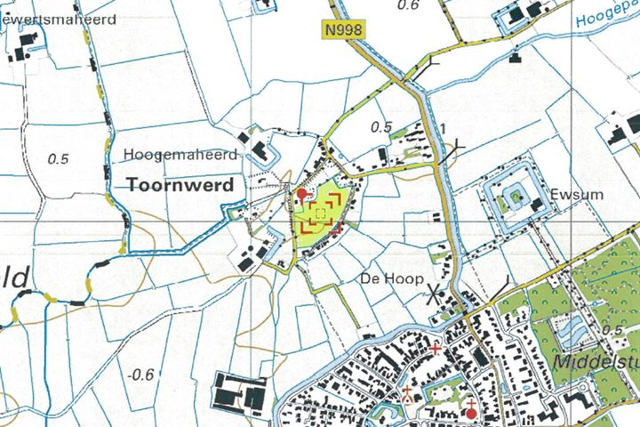W.J. Dethmersweg, Toornwerd