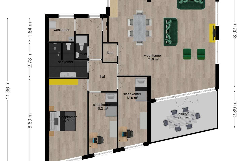 Appartement Te Koop Hof Van Den Houte 86 4873 Bj Etten Leur