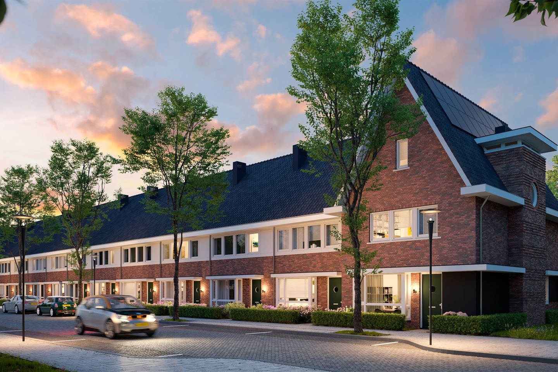 Bekijk foto 2 van 21   Stadswoning met erker   Strauss (Bouwnr. 21)