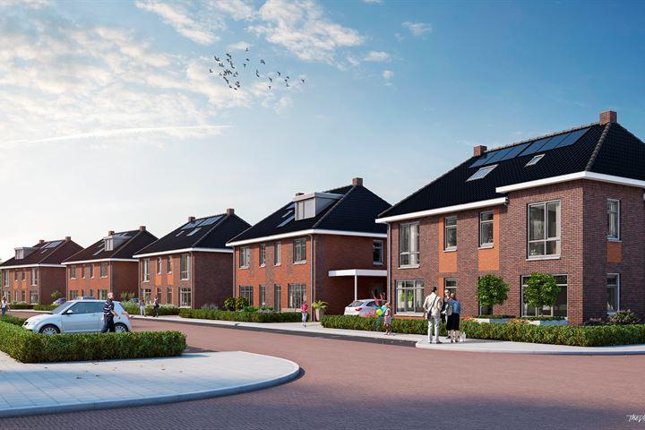10 twee-kappers aan Athenestraat in Park Veldwijk