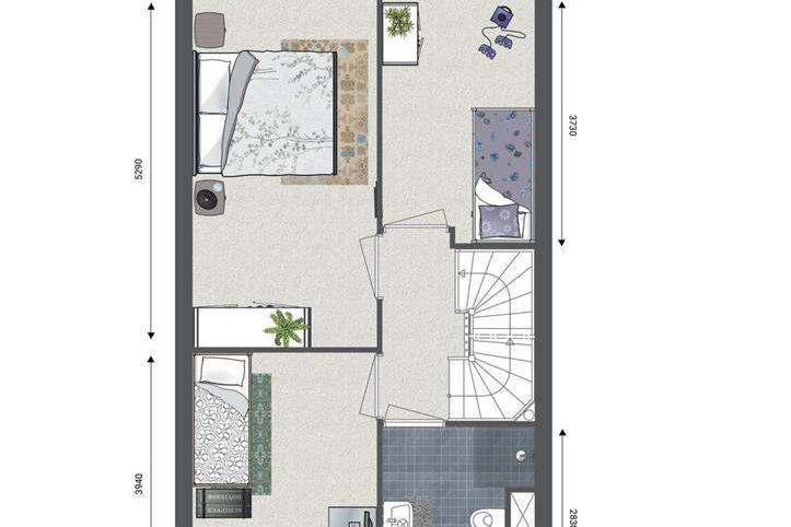 Bekijk foto 3 van Park Centraal | fase 6 (Bouwnr. 324)