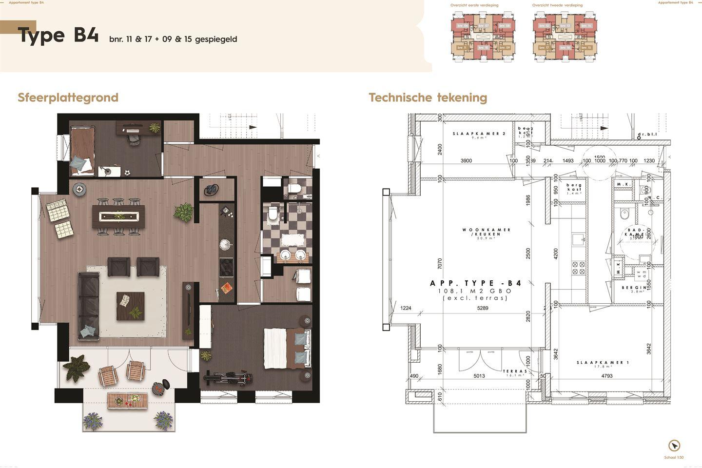 Bekijk foto 4 van De Residentie, type B, Bouwnummer (Bouwnr. 9)