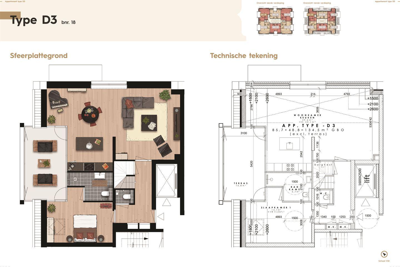 Bekijk foto 3 van De Residentie, type D, Bouwnummer (Bouwnr. 18)