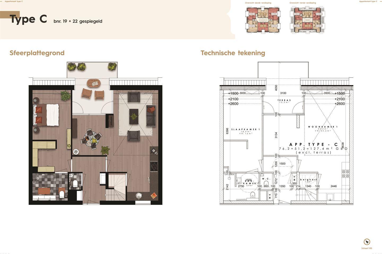 Bekijk foto 4 van De Residentie, type C, Bouwnummer (Bouwnr. 19)