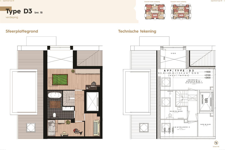 Bekijk foto 4 van De Residentie, type D, Bouwnummer (Bouwnr. 18)