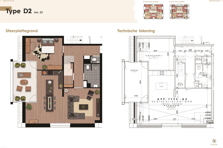 Bekijk foto 4 van De Residentie, type D, Bouwnummer (Bouwnr. 23)