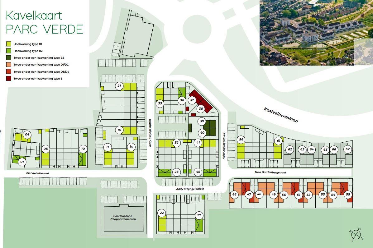 Bekijk foto 4 van Hoekwoning type B2 - Parc Verde - kavel 27