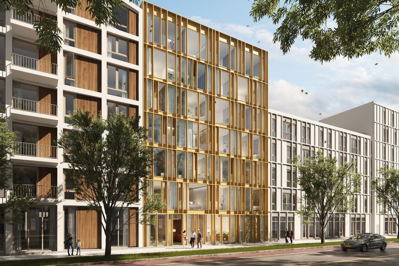 Bekijk foto 3 van High End   3- kamer appartement   Distelweg (Bouwnr. 6)