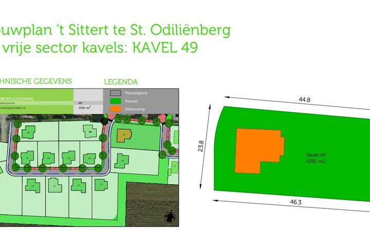 Bouwkavel 't Sittert (Bouwnr. 49)