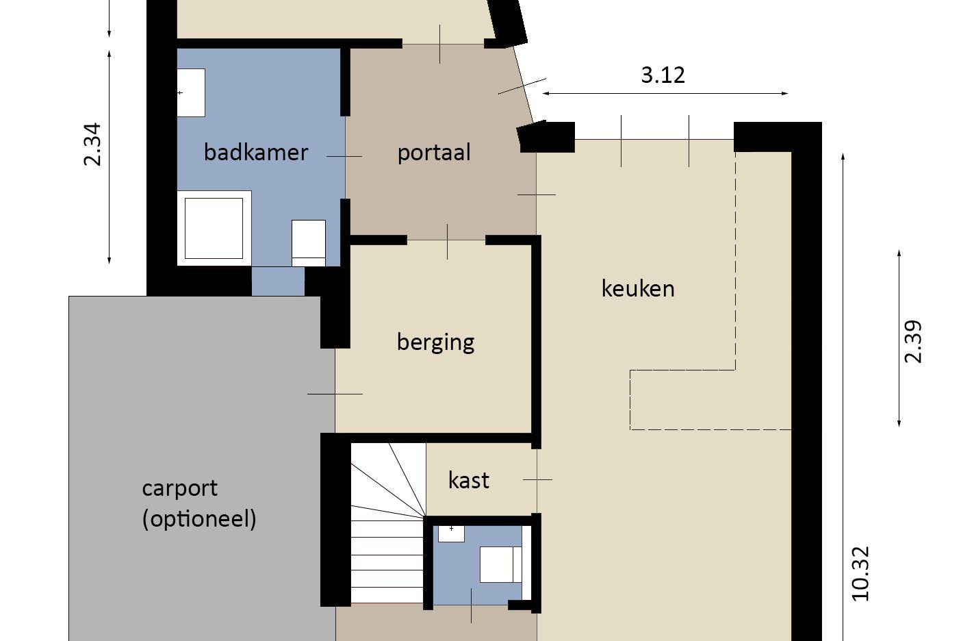 Bekijk foto 2 van Molenweg (Bouwnr. 1)