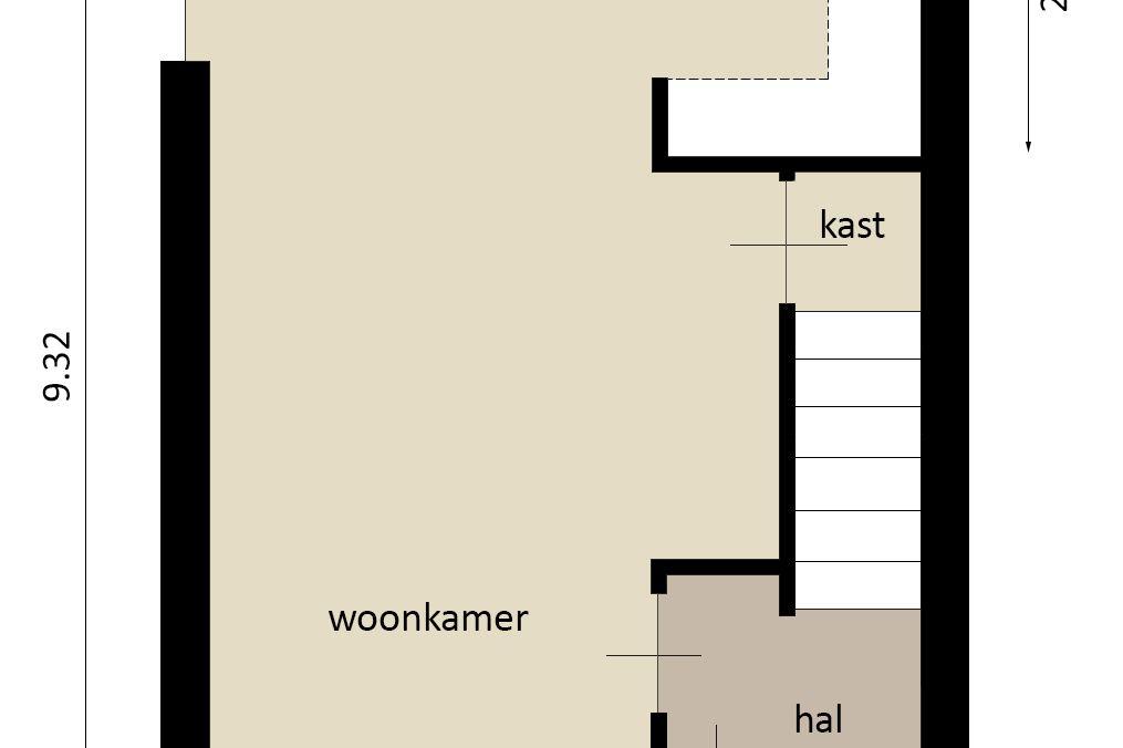 Bekijk foto 2 van Molenweg (Bouwnr. 3)