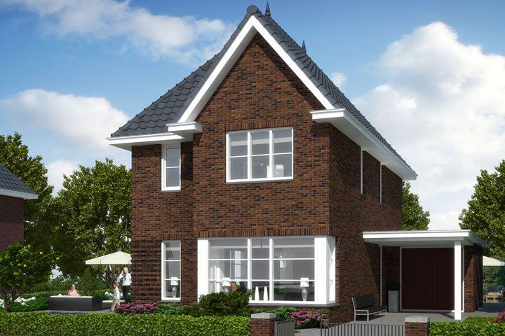 Bouwkavels met woonhuis Ericaweg