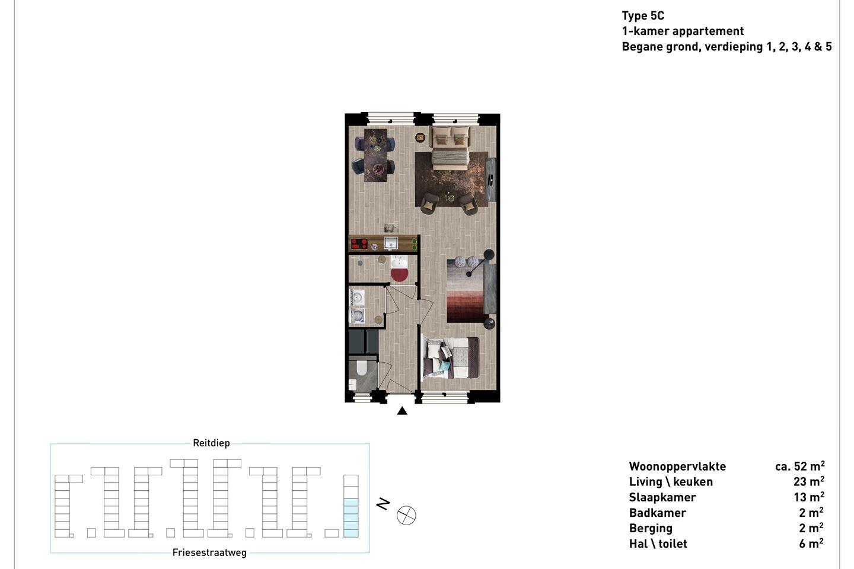 Bekijk foto 3 van Friesestraatweg 205 -17