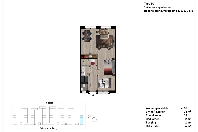 Bekijk foto 3 van Friesestraatweg 205 -33