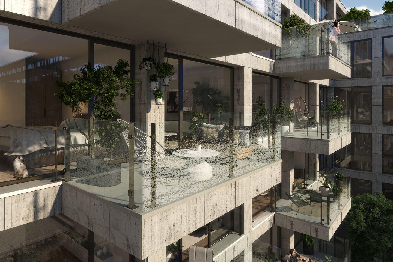 View photo 2 of Aan het IJ | The Cube (Bouwnr. 151)