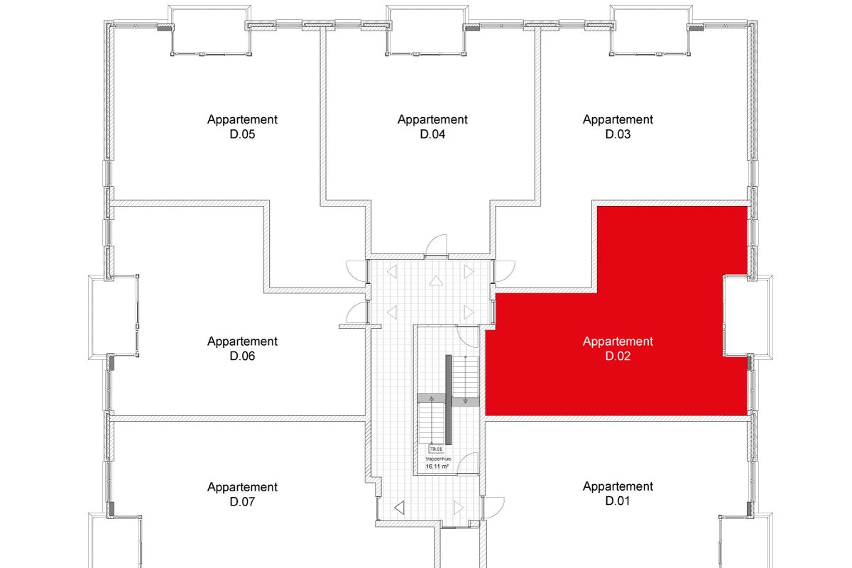 Bekijk foto 5 van Wertha appartement 07 (Bouwnr. 7)
