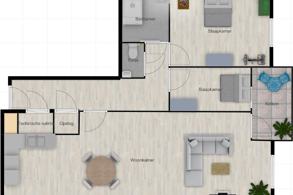 Bekijk foto 6 van Wertha appartement 07 (Bouwnr. 7)