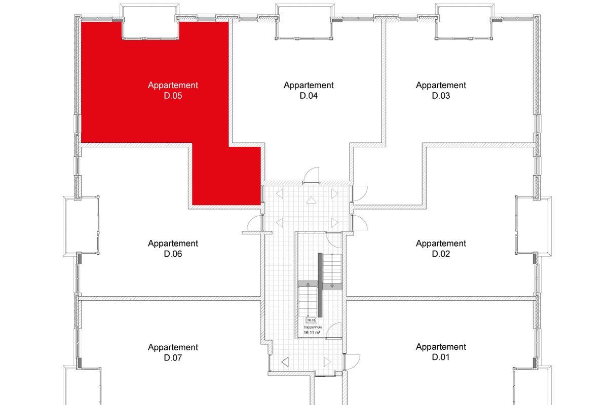 Bekijk foto 5 van Wertha appartement 20 (Bouwnr. 20)