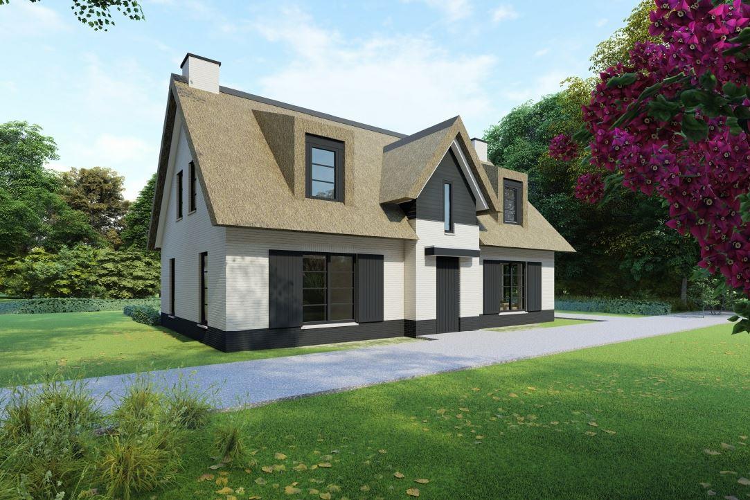 Bekijk foto 1 van Nedereindseweg 541A. Kavel+bouwplan villa