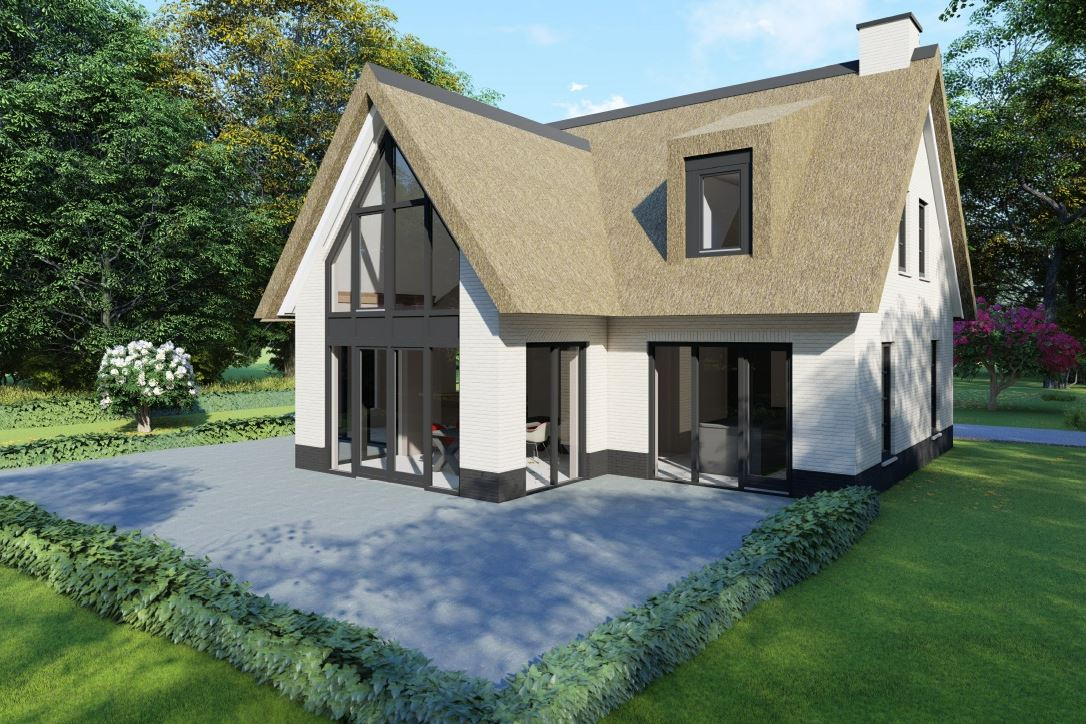 Bekijk foto 2 van Nedereindseweg 541A. Kavel+bouwplan villa