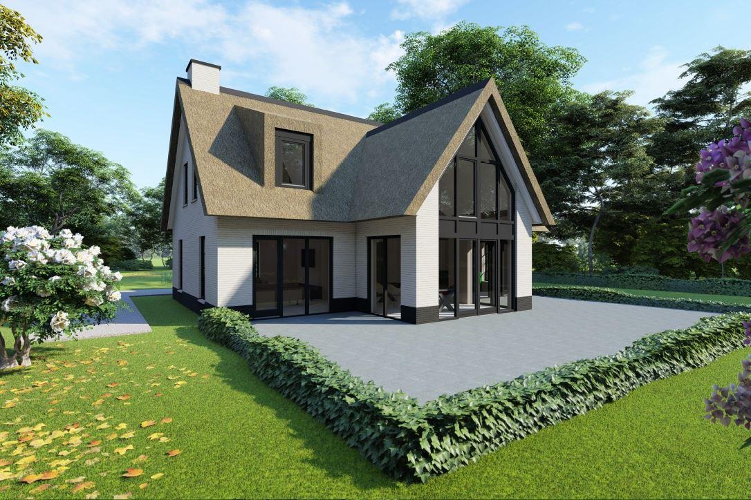 Bekijk foto 3 van Nedereindseweg 541A. Kavel+bouwplan villa