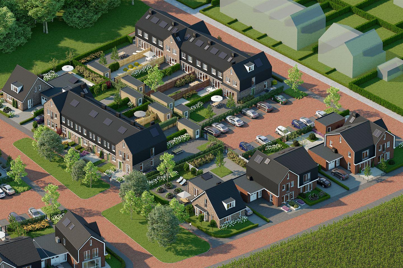 Bekijk foto 3 van Eengezins hoekwoningen (Bouwnr. 61)