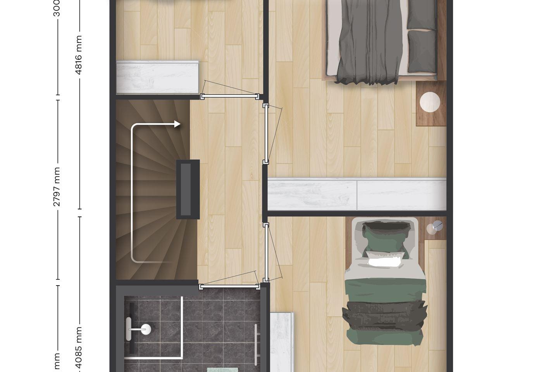Bekijk foto 5 van Morgen Wonen - Tussenwoningen (Bouwnr. 25)