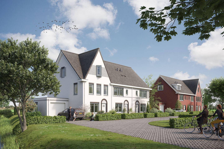 Bekijk foto 1 van Kwartshove Halfvrijstaande woning - groen (Bouwnr. 14)