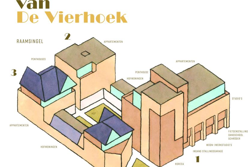 Bekijk foto 2 van De Vierhoek (Bouwnr. 46)