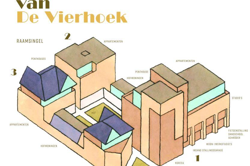 Bekijk foto 1 van De Vierhoek (Bouwnr. 9)