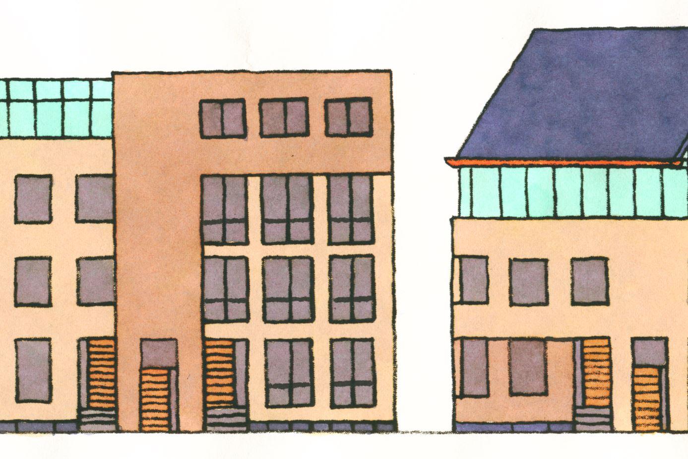 Bekijk foto 2 van De Vierhoek (Bouwnr. 4)