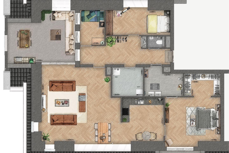 Bekijk foto 3 van Penthouse (Bouwnr. 6)