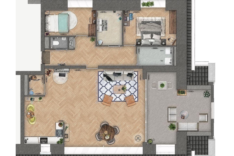 Bekijk foto 5 van Penthouse (Bouwnr. 7)