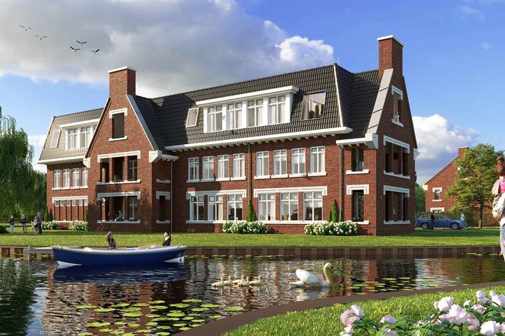 Appartement begane grond aan het water (Bouwnr. 1)