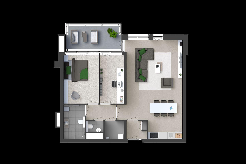Bekijk foto 5 van Appartement (Bouwnr. 14)