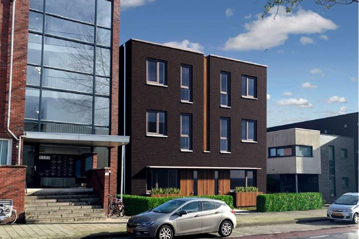 Nieuwbouw Herenhuizen Deurningerstraat 132 Enschede