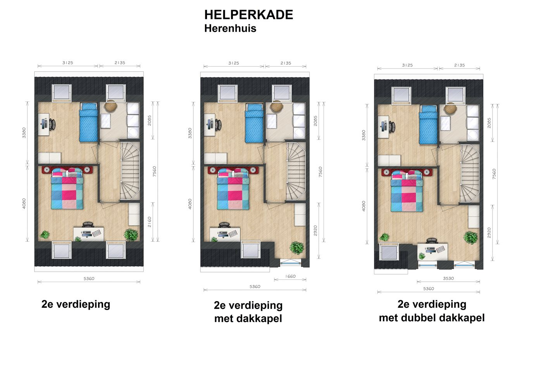 View photo 6 of Helperkade - Herenhuizen (Bouwnr. 38)